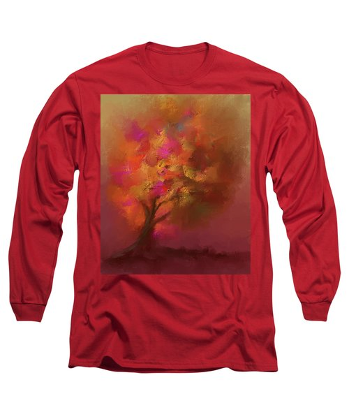 Abstract Colourful Tree Long Sleeve T-Shirt