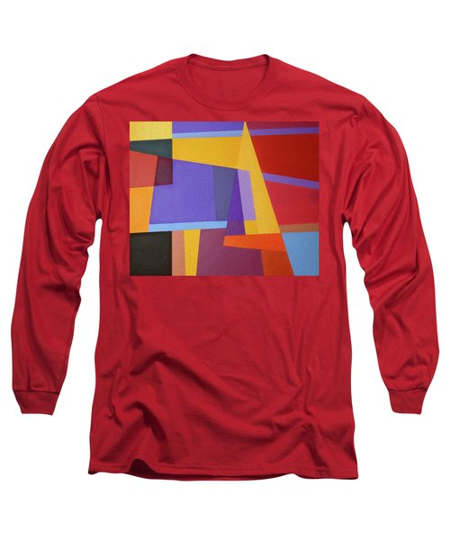 Abstract Composition 7 Long Sleeve T-Shirt