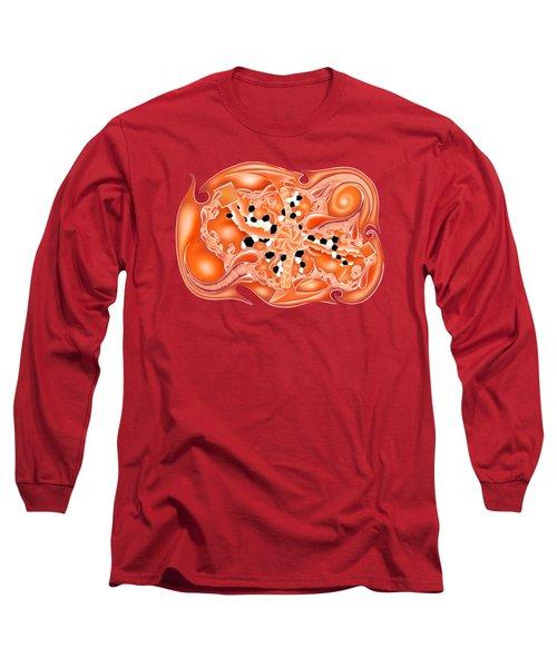 Abstract Digital Art - Mayalios V2 Long Sleeve T-Shirt