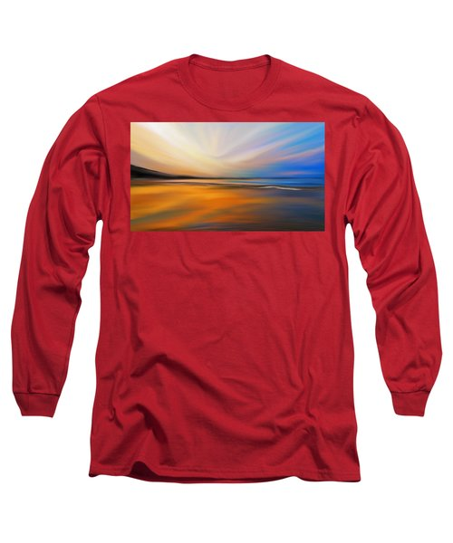 Abstract Energy Long Sleeve T-Shirt by Anthony Fishburne