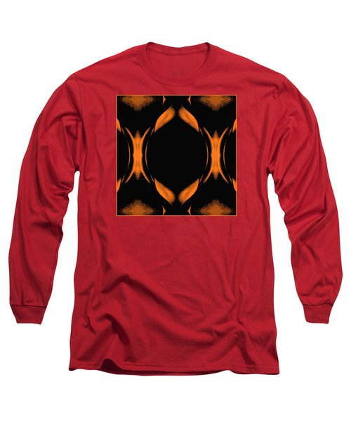 Long Sleeve T-Shirt featuring the photograph Abstract Female Nude by Jack Dillhunt