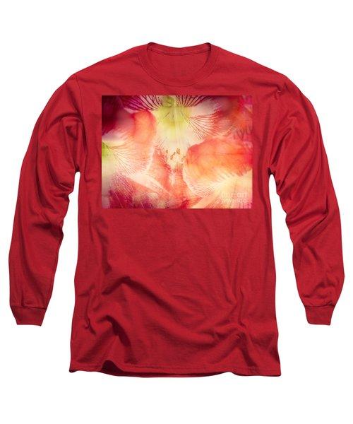 Abstract Flower Art Long Sleeve T-Shirt