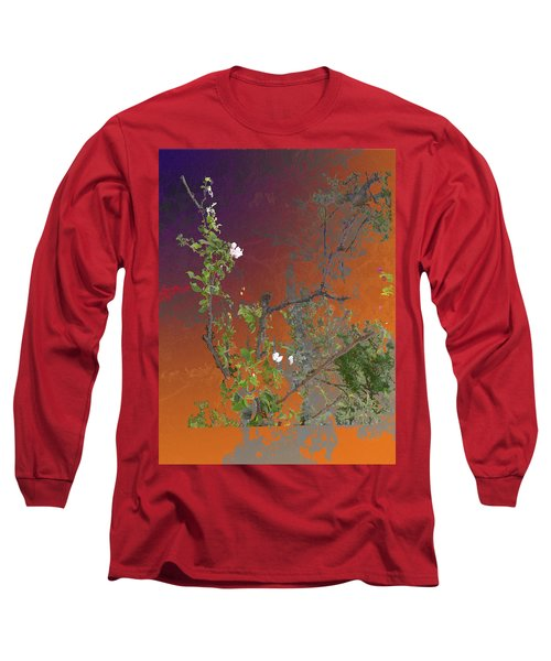 Abstract Flowers Of Light Series #13 Long Sleeve T-Shirt