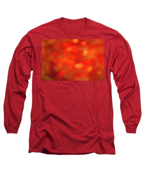 Abstract Honey Cakes Long Sleeve T-Shirt by Yoel Koskas