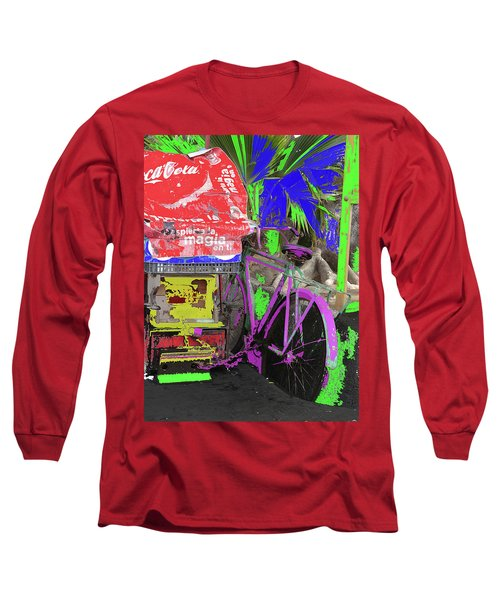 Abstract  Images Of Urban Landscape Series #3 Long Sleeve T-Shirt