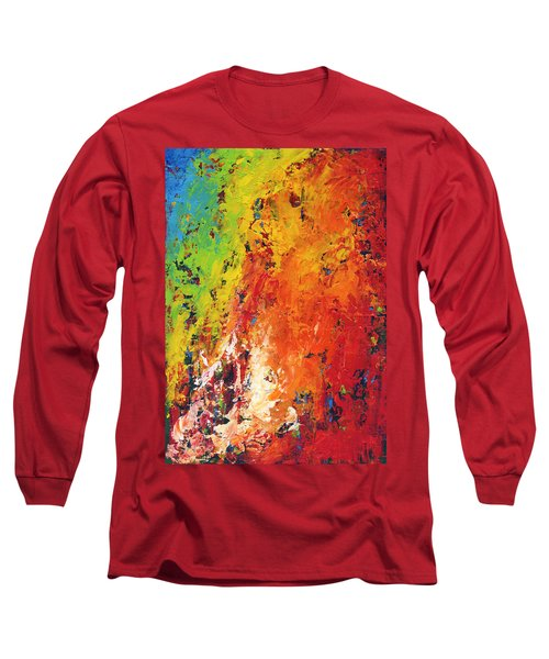 Abstract Land Long Sleeve T-Shirt