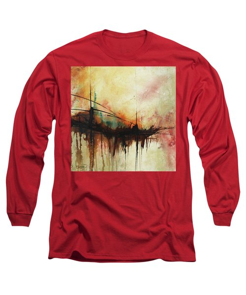 Abstract Painting Contemporary Art Long Sleeve T-Shirt