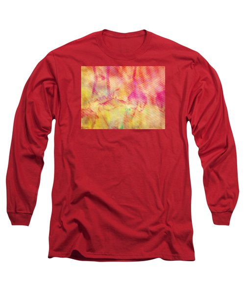 Long Sleeve T-Shirt featuring the photograph Abstract Photography 003-16 by Mimulux patricia no No