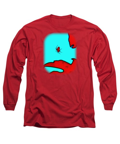 Abstract Spider Long Sleeve T-Shirt