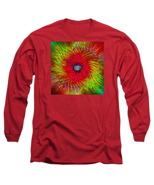 Long Sleeve T-Shirt featuring the photograph Abstract Swirl 03 by Jack Torcello
