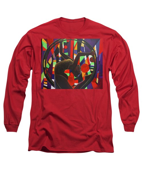 Acrobat In Ring Long Sleeve T-Shirt
