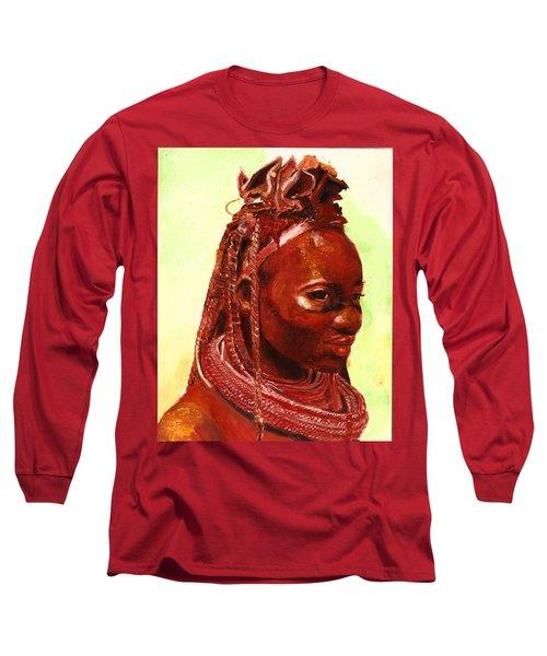 African Beauty Long Sleeve T-Shirt
