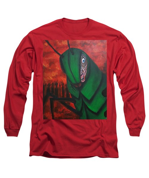 After Bob Died He Realized He Had Made Poor Life Choices. Long Sleeve T-Shirt by Chris Benice