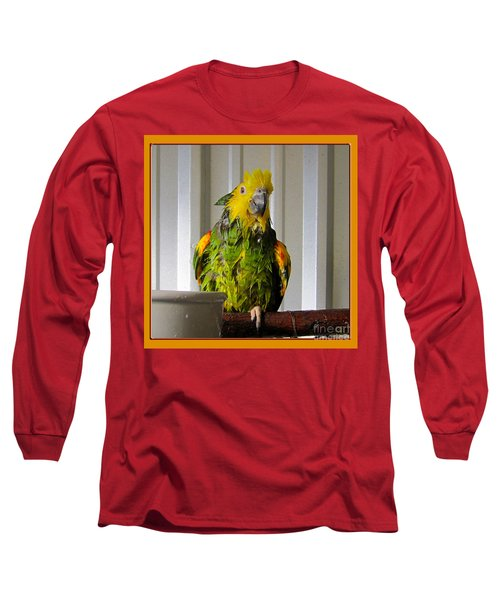 Long Sleeve T-Shirt featuring the photograph After The Bath by Victoria Harrington