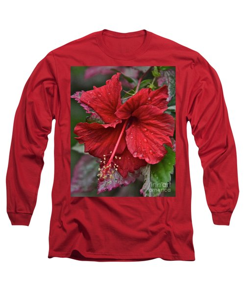 Long Sleeve T-Shirt featuring the photograph After The Rain by Carol  Bradley
