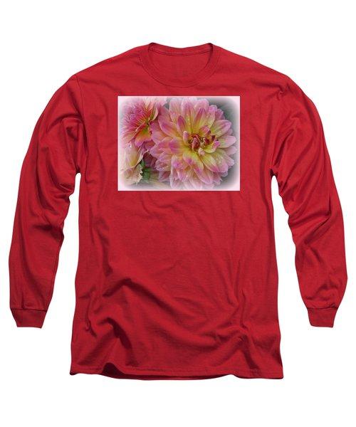 After The Rain - Dahlias Long Sleeve T-Shirt