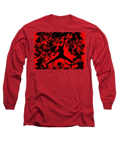 Air Jordan 1b Long Sleeve T-Shirt by Brian Reaves