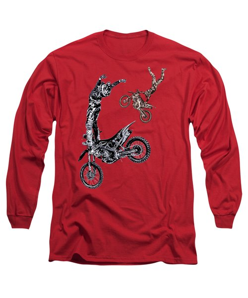 Air Riders Long Sleeve T-Shirt by Caitlyn Grasso