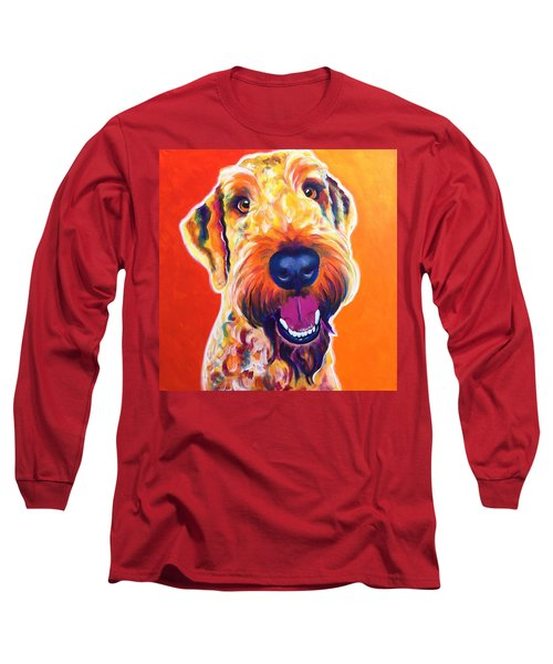 Airedoodle - Hank Long Sleeve T-Shirt