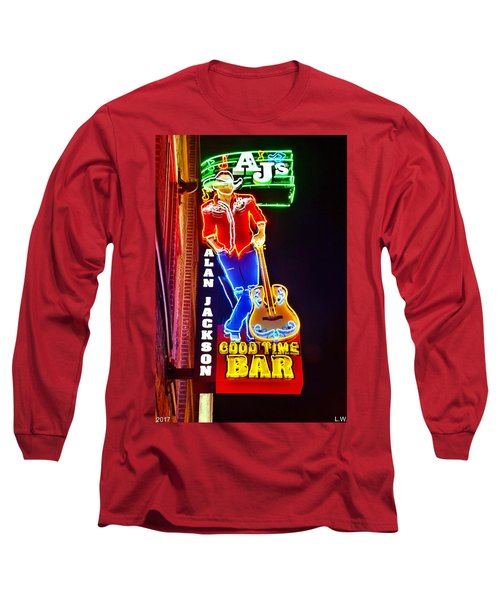 Aj's Good Time Bar Long Sleeve T-Shirt