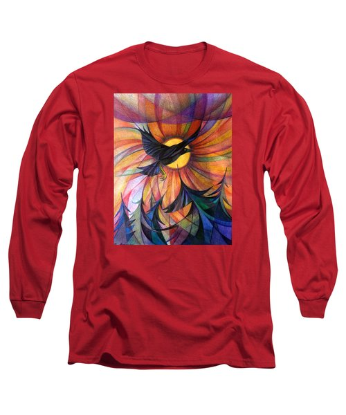 Alaska Morning Long Sleeve T-Shirt