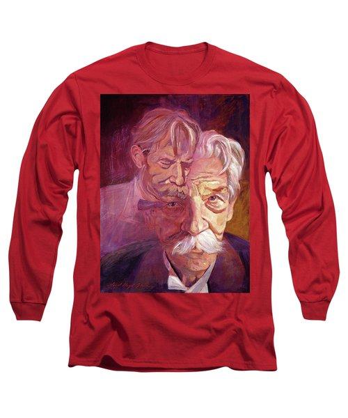 Albert Schweitzer Portrait Long Sleeve T-Shirt