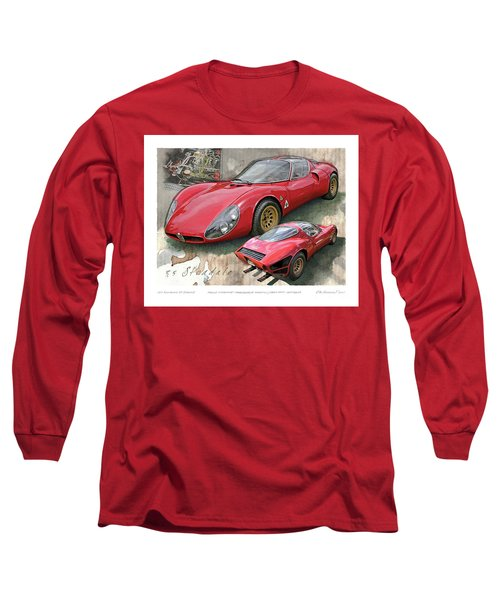 1967 Alfa Romeo 33 Stradale Long Sleeve T-Shirt