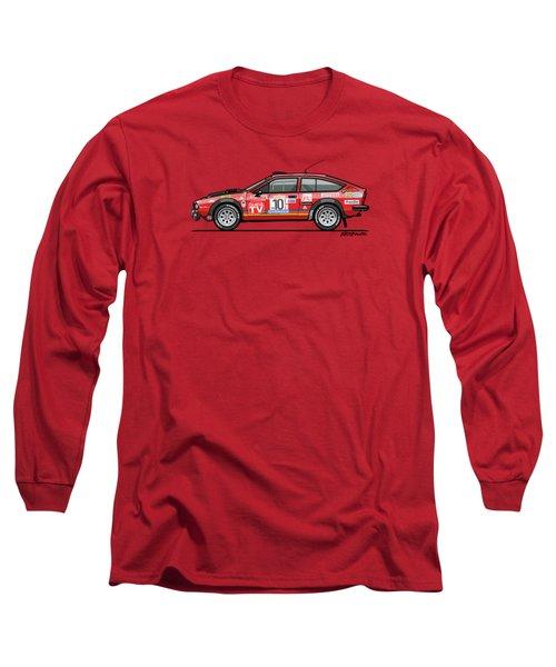 Alfetta Gtv Turbodelta Jolly Club Fia Group 4 1980 Sanremo Rallye Long Sleeve T-Shirt