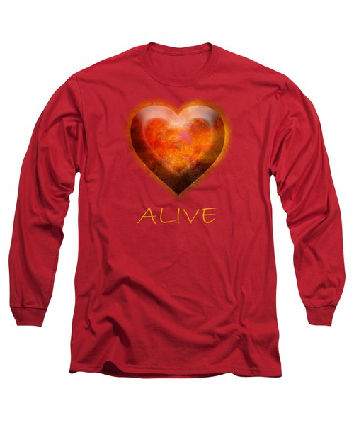 Fire Of Your Heart Long Sleeve T-Shirt