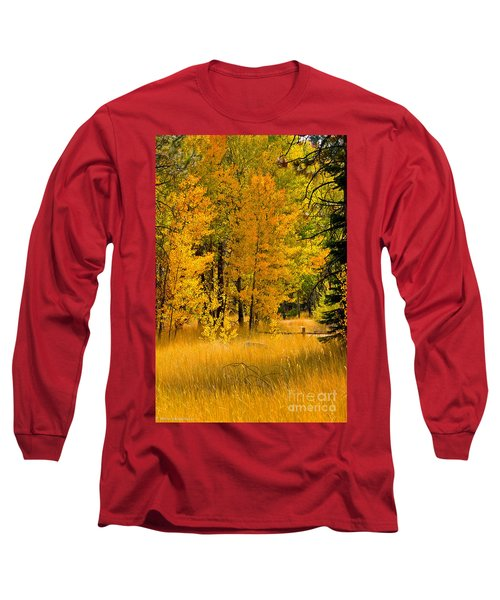All The Soft Places To Fall Long Sleeve T-Shirt by Mitch Shindelbower