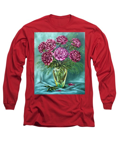 All Things Beautiful Long Sleeve T-Shirt by Karen Showell