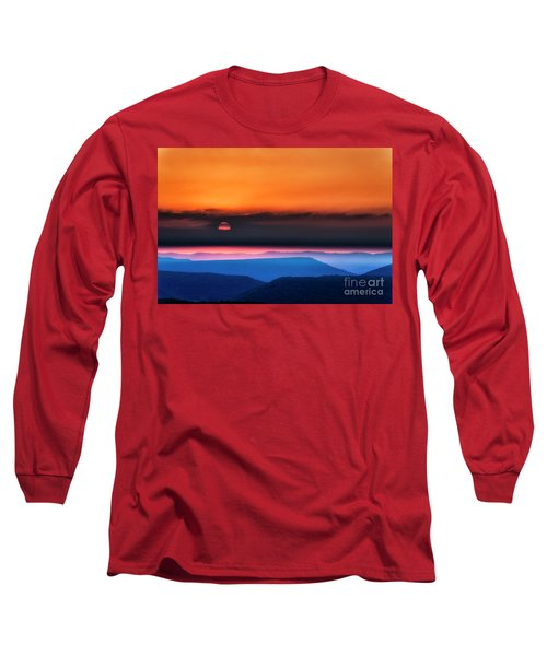 Allegheny Mountain Sunrise 2 Long Sleeve T-Shirt