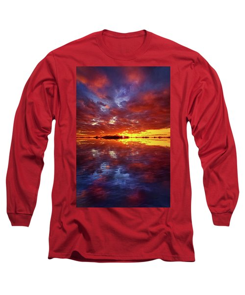 Long Sleeve T-Shirt featuring the photograph Allowed To Drift by Phil Koch
