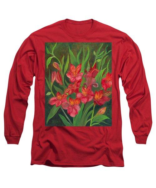 Alstroemeria Long Sleeve T-Shirt
