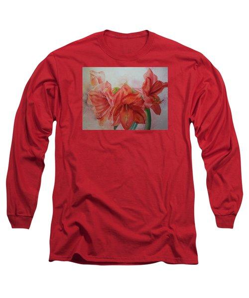 Amarylis Long Sleeve T-Shirt by Ruth Kamenev