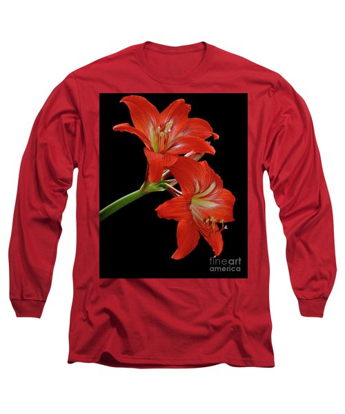 Amaryllis Long Sleeve T-Shirt