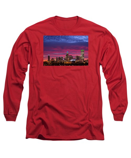 Amazing Colors Of Charlotte Long Sleeve T-Shirt by Serge Skiba