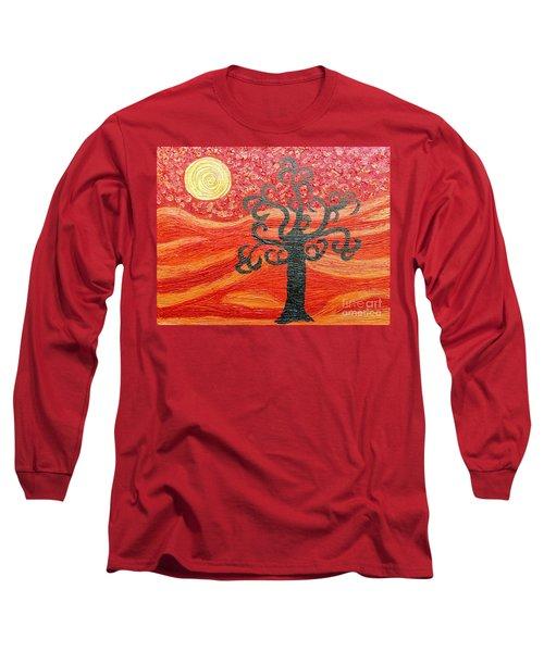 Ambient Bliss Long Sleeve T-Shirt by Rachel Hannah