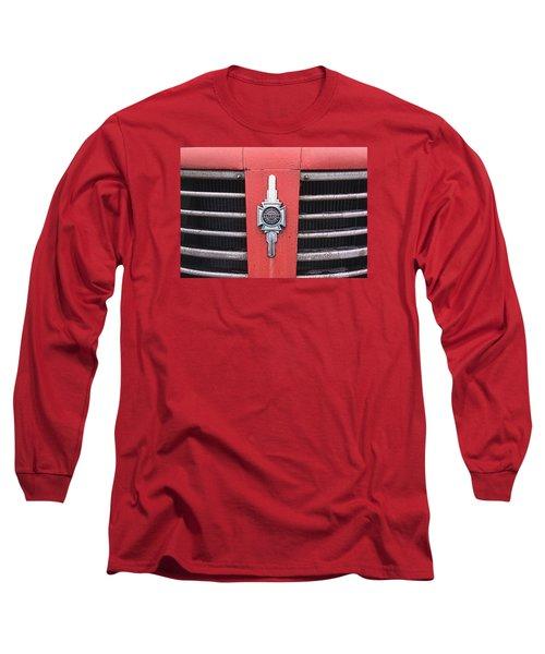 American Foamite Firetruck Emblem Long Sleeve T-Shirt