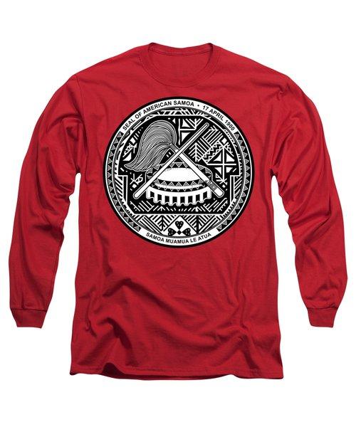 American Samoa Seal Long Sleeve T-Shirt