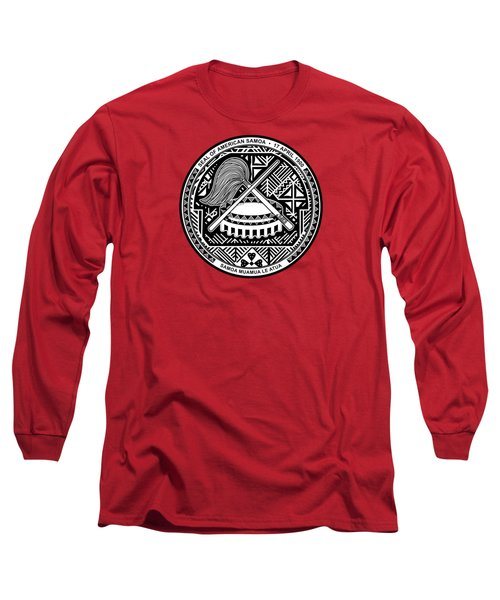 American Samoa Seal Long Sleeve T-Shirt