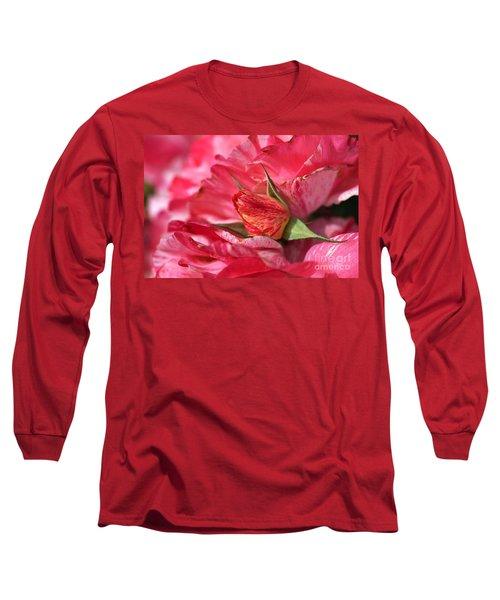 Amongst The Rose Petals Long Sleeve T-Shirt