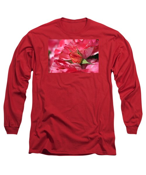 Amongst The Rose Petals Long Sleeve T-Shirt
