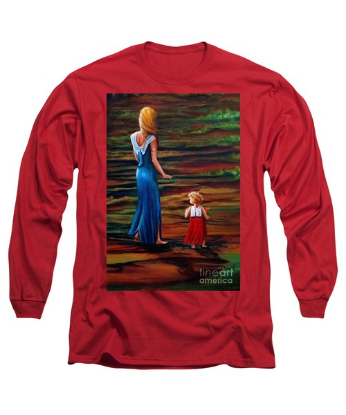 An Evening Walk Long Sleeve T-Shirt