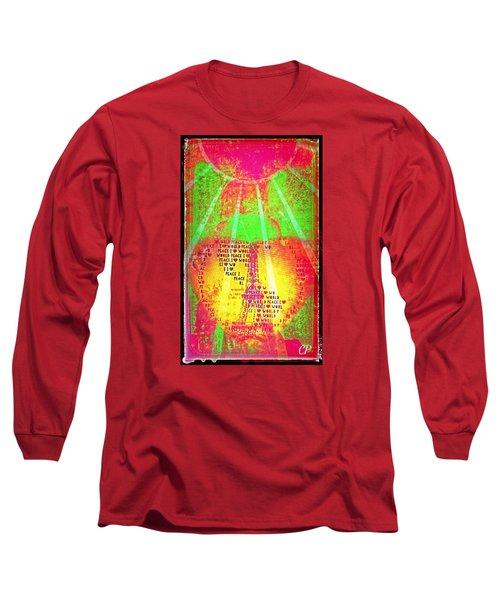 Ange De Paix Mondiale Long Sleeve T-Shirt