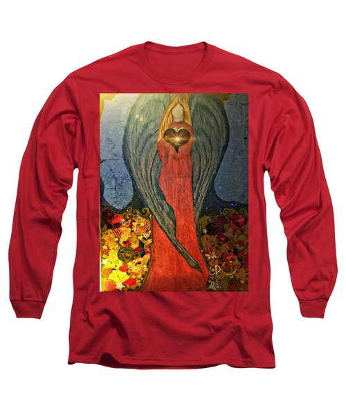 Angel Sails Waves Of Love Long Sleeve T-Shirt