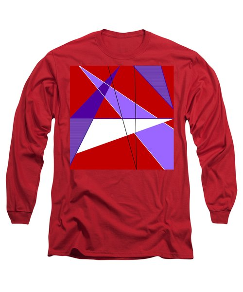 Angles And Triangles Long Sleeve T-Shirt by Tara Hutton
