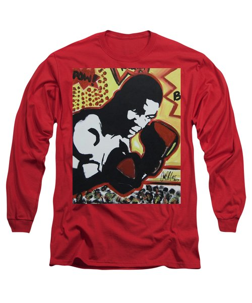 Animated Mike Long Sleeve T-Shirt