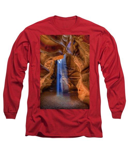 Antelope Canyon Blues Long Sleeve T-Shirt