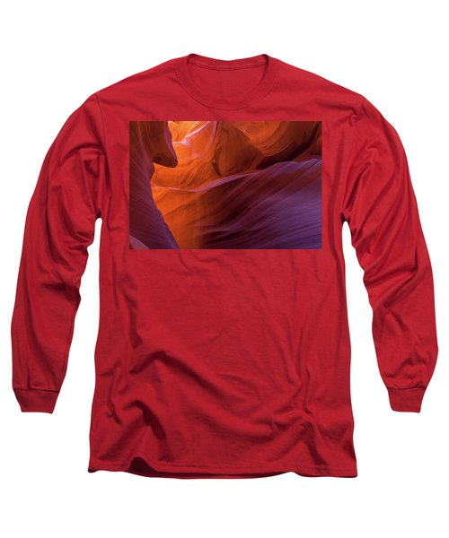 Antelope Canyon Fire Long Sleeve T-Shirt